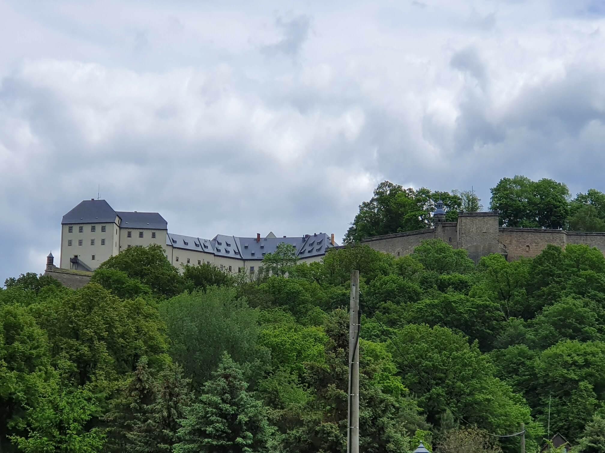 Cesta nanejvětší německou vojenskou pevnost ahrad